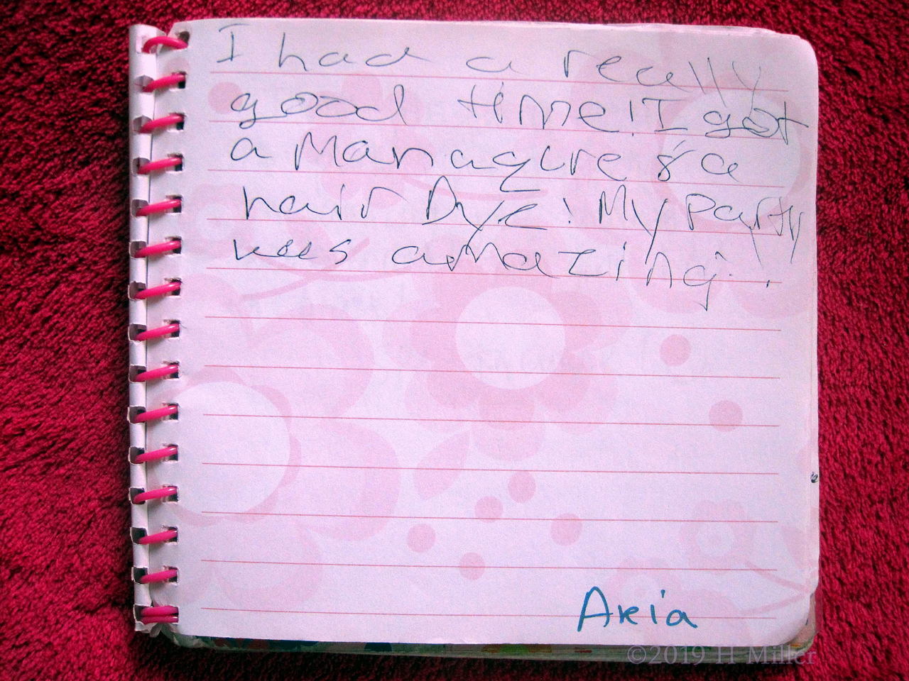 Aleia's Girls Spa Party Review