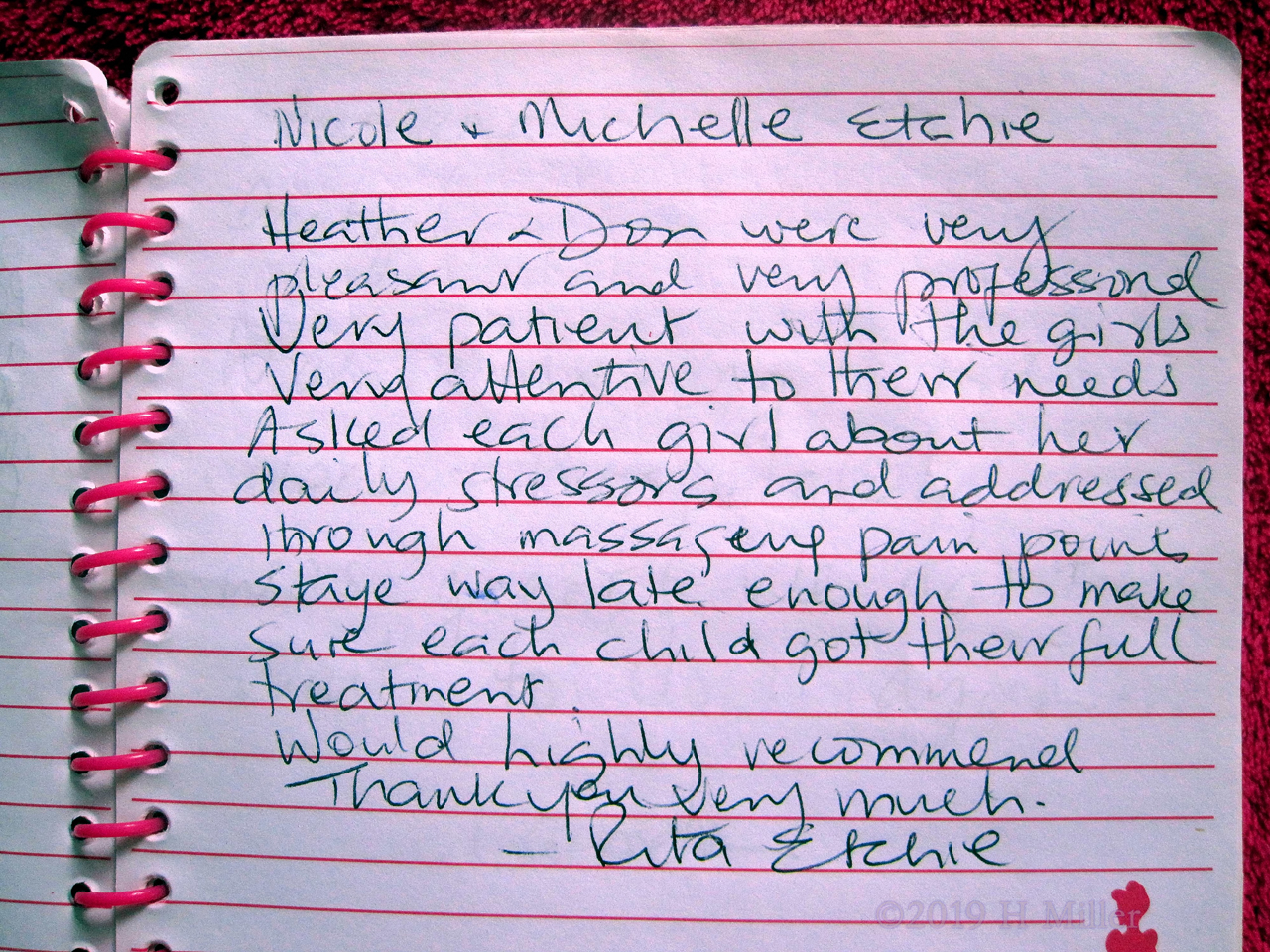Nicole And Michelle's Girls Spa Party Review