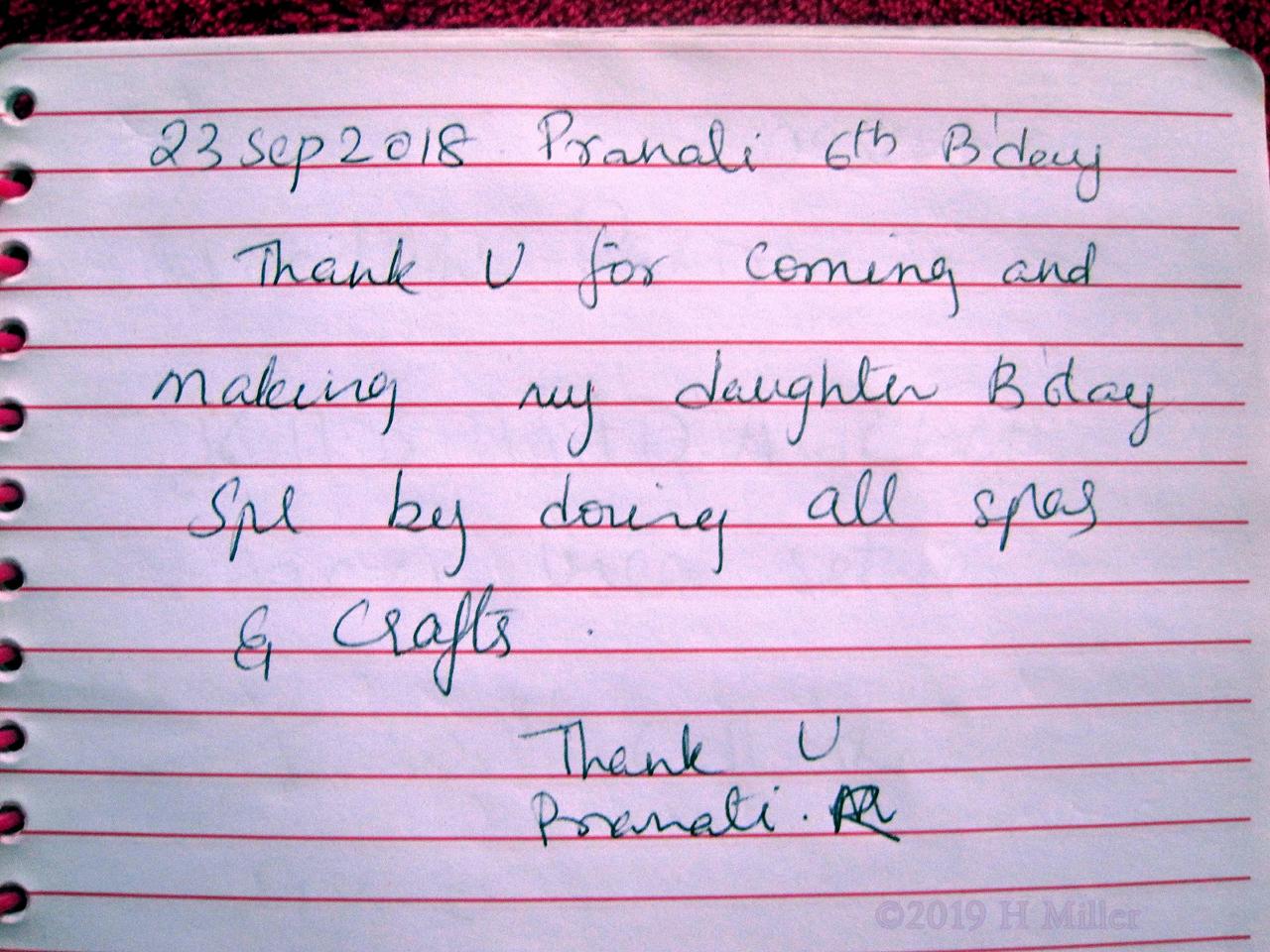 Pranati's Girls Spa Review