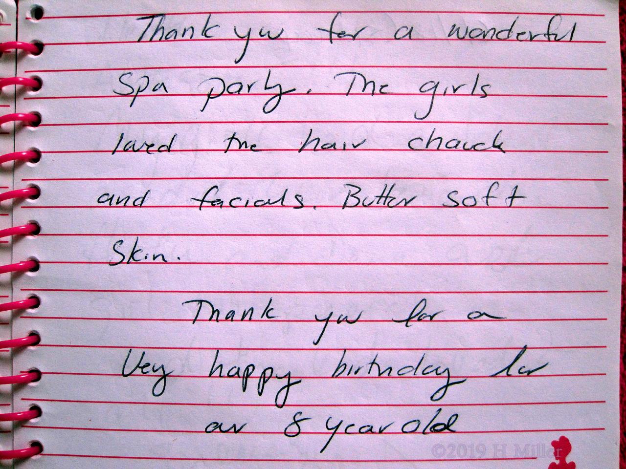 Sydney's Girls Spa Review